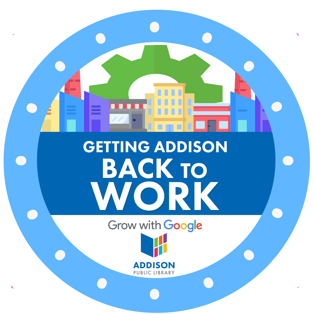 Getting Addison Back to Work Logo